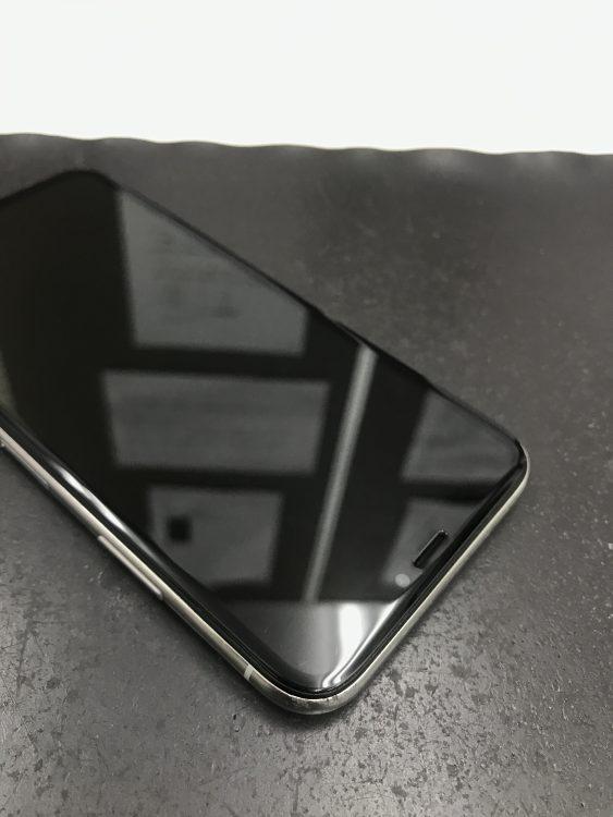 アイフォンX画面交換後2
