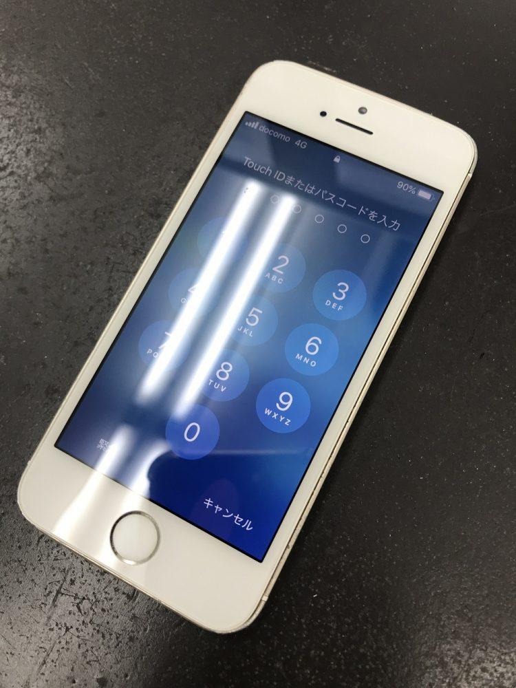 iPhoneSE修理 修理後