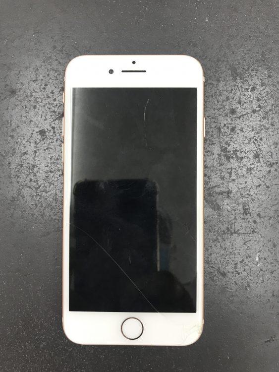 スマホ アイフォン8 画面交換