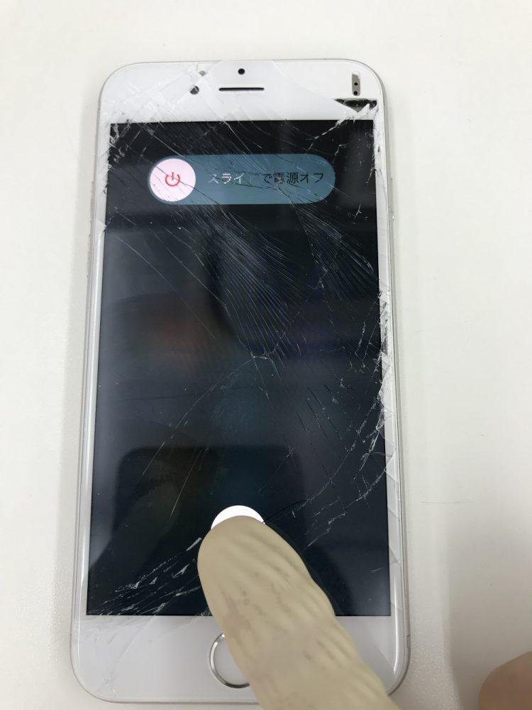 iPhone6sガラス液晶修理