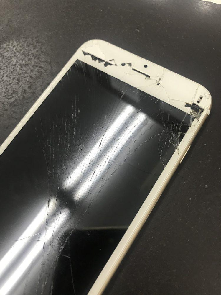 iPhone6sPlusの画面交換前2
