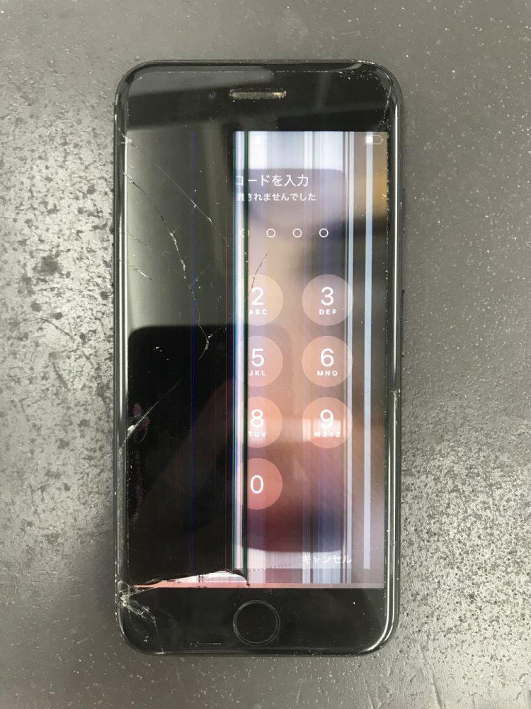 iPhone画面故障写真