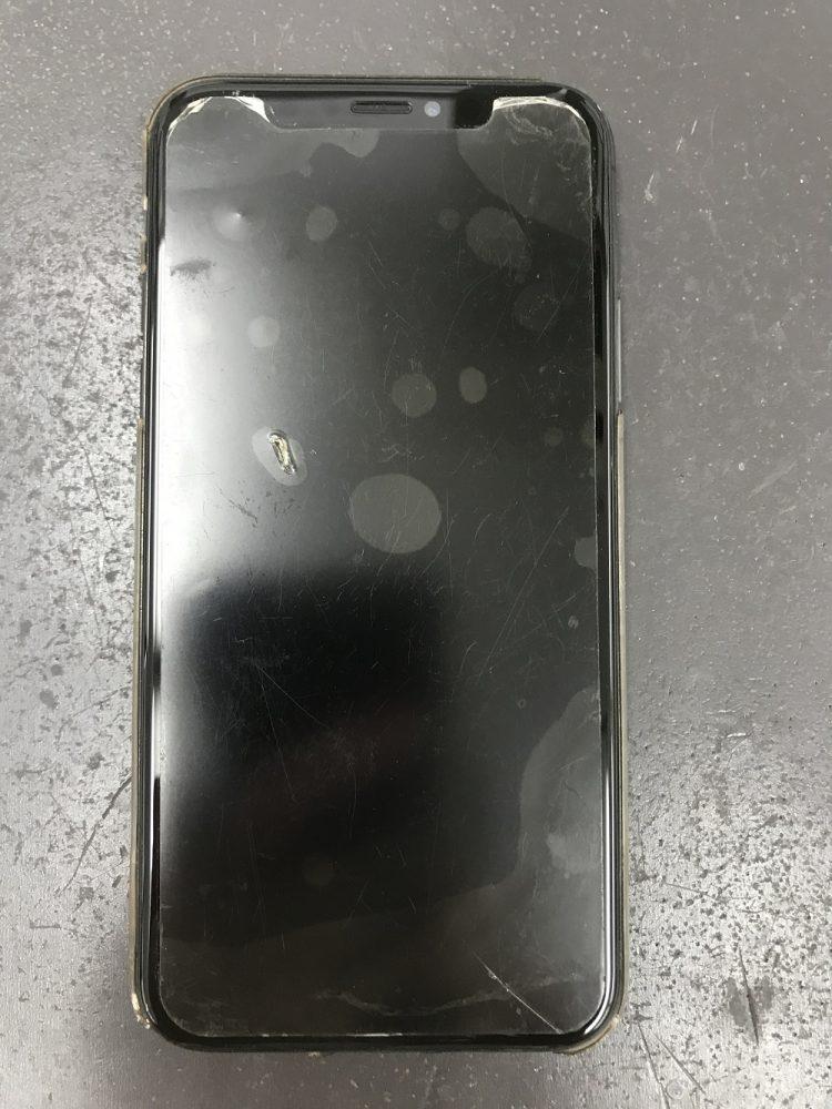 iPhoneXS画面交換 前