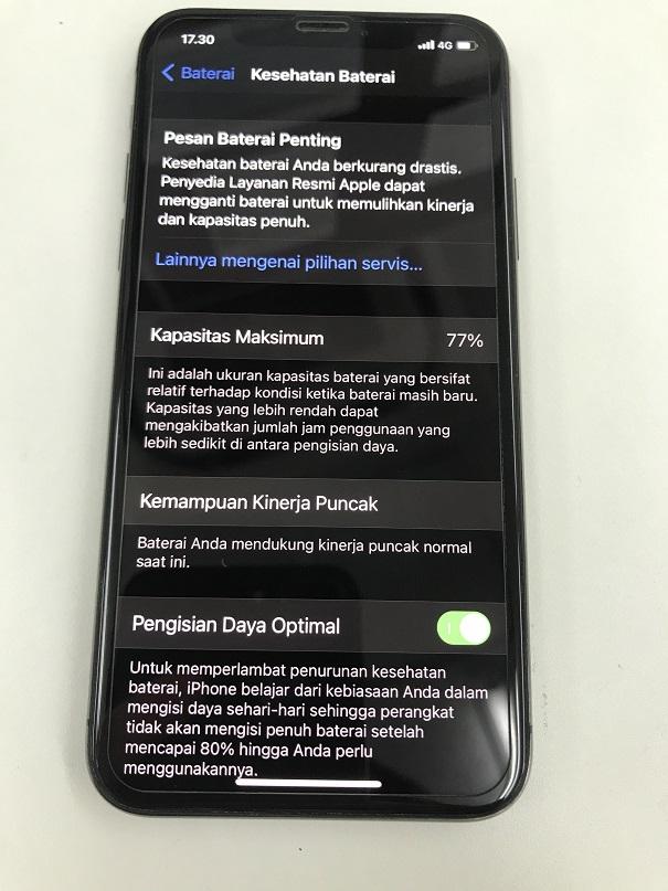iPhoneXアイフォンXバッテリー交換修理