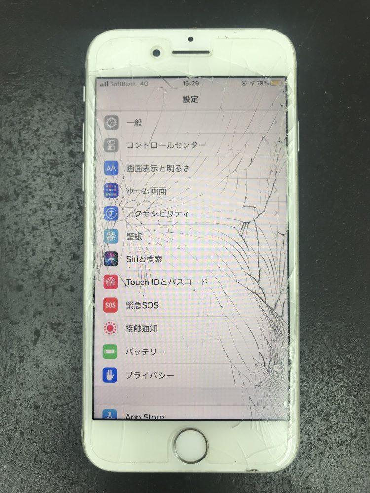 iPhone8の画面交換