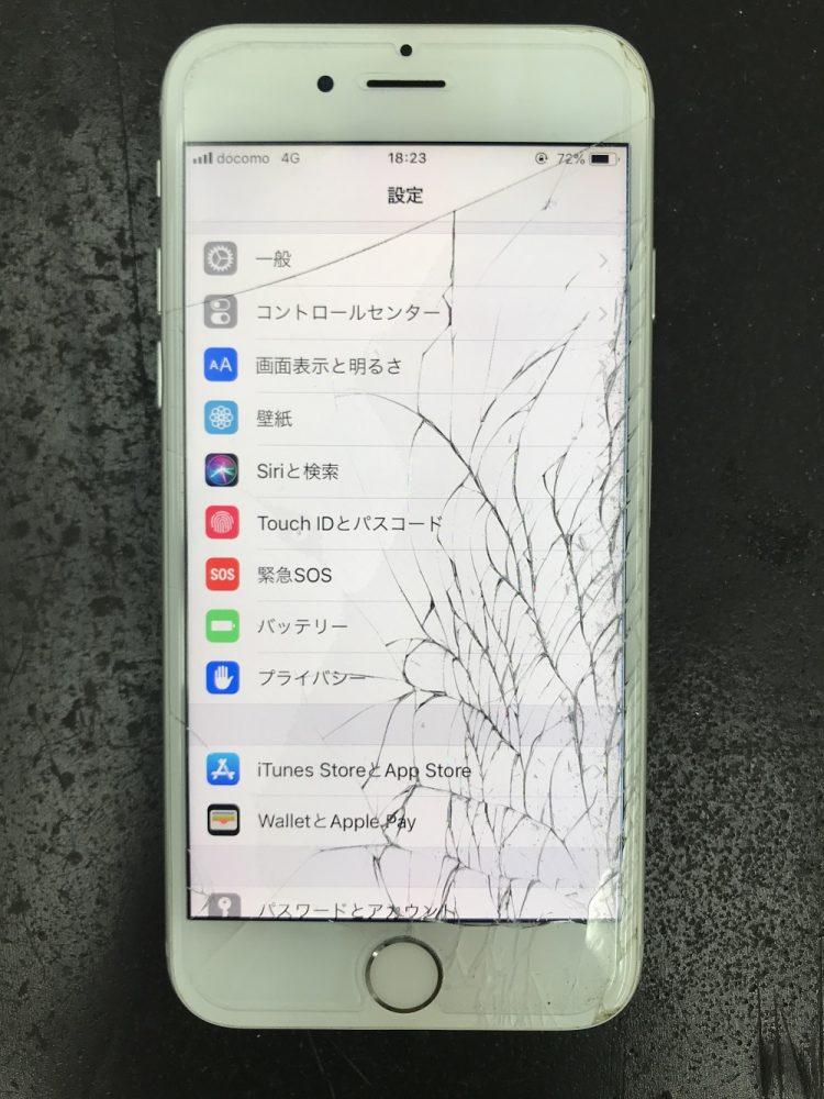 iPhone6画面交換修理写真