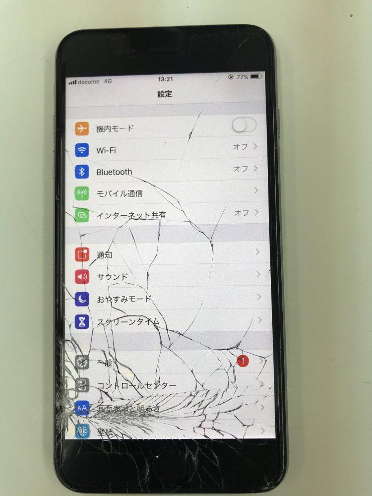 iPhone6Plus画面交換前1