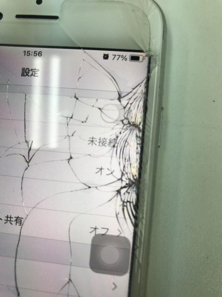iPhone6s画面交換前アップ写真