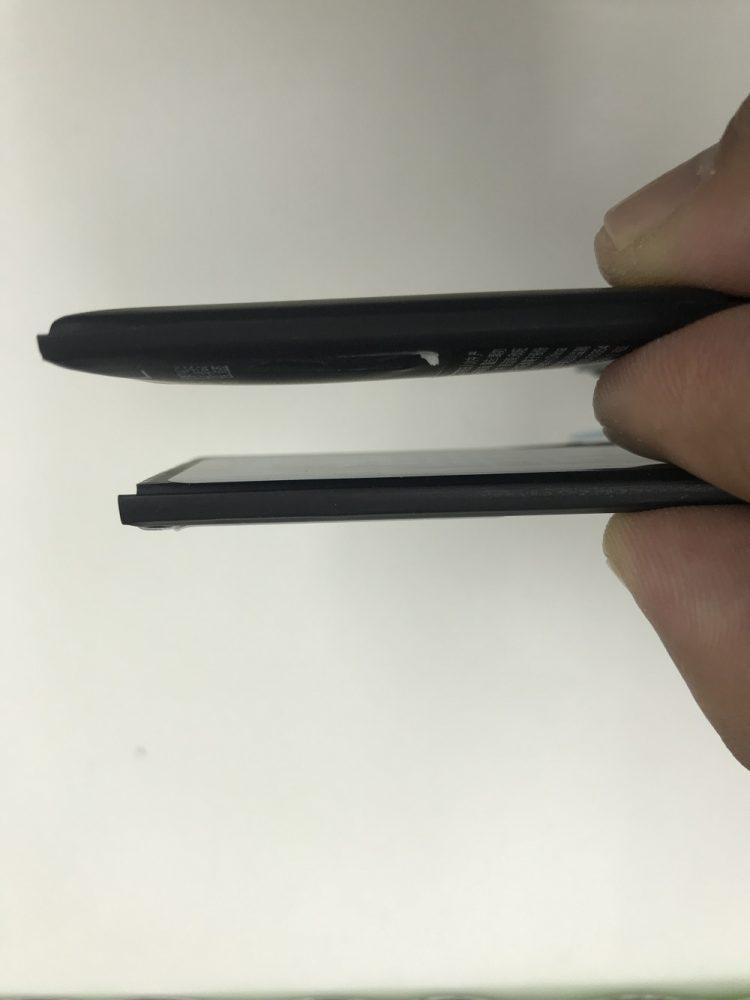 iPhoneX バッテリー比較