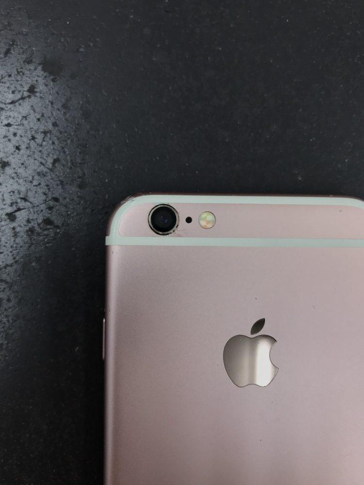 iPhone6s カメラカバーガラス割れ 修理後
