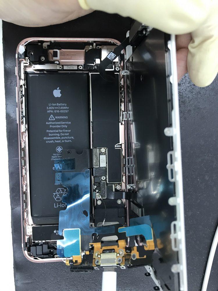 iPhone7ドック交換