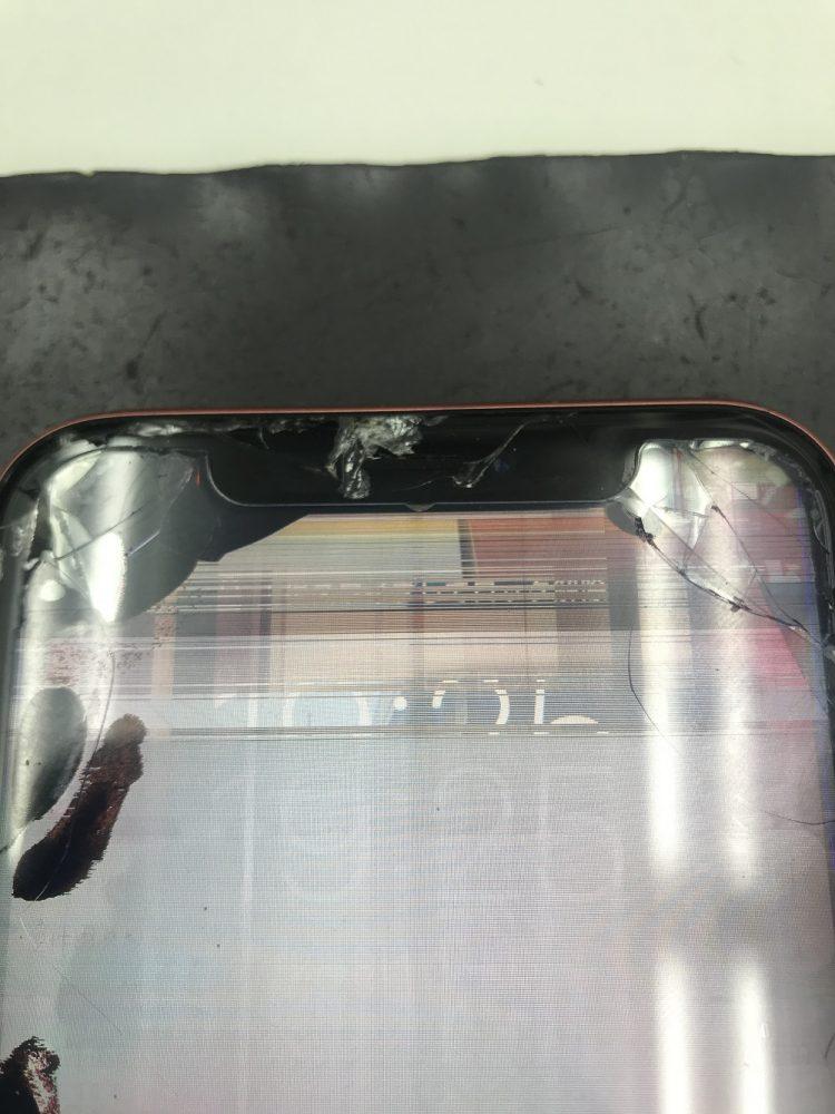 iPhoneXR画面交換前写真2