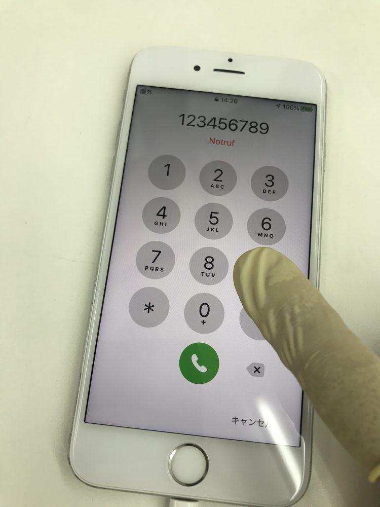 iPhone6s操作不良修理 修理後