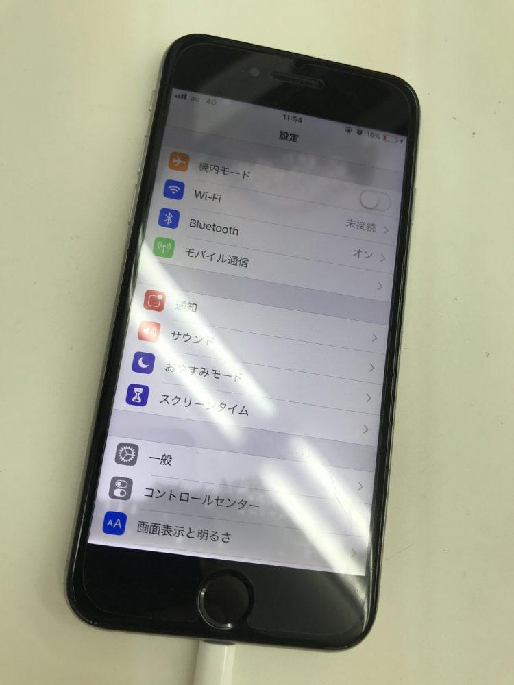 iPhone6 水没復旧中