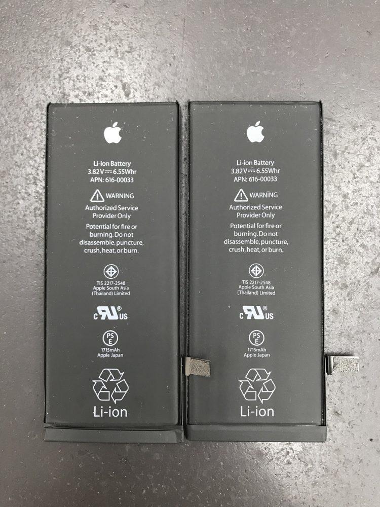 iPhone6sバッテリー外観