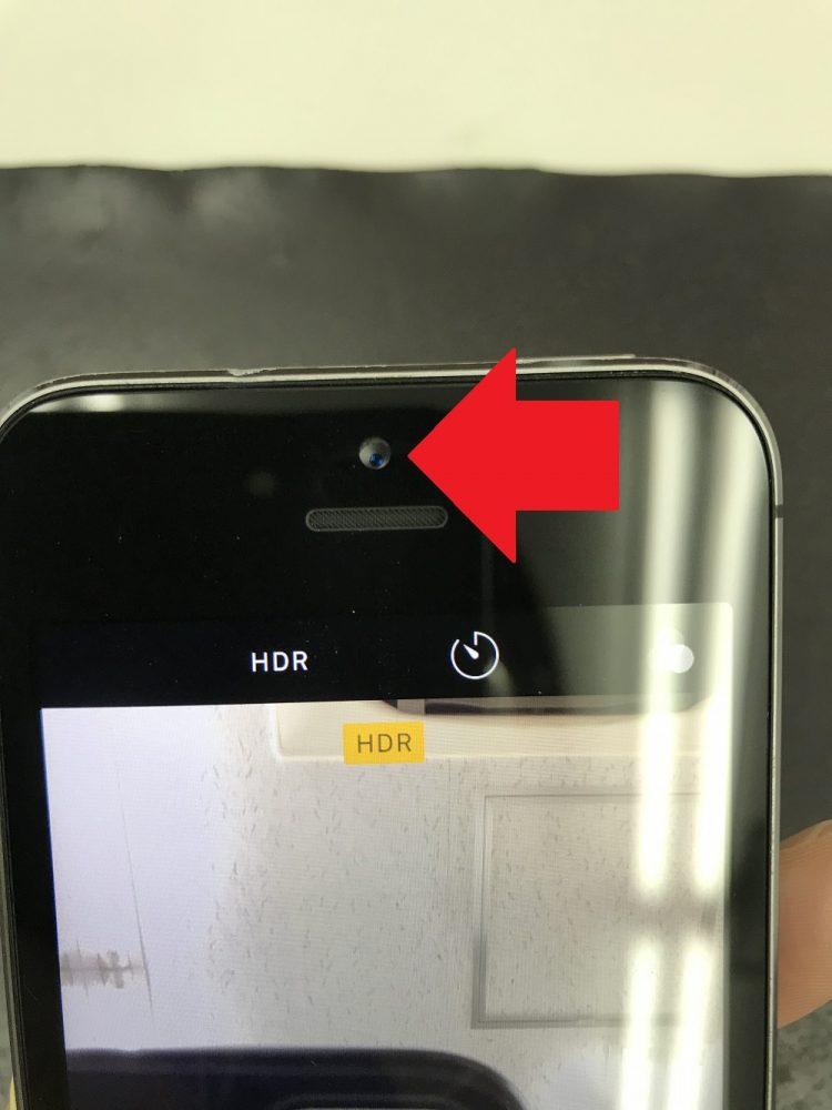 iPhone5sバッテリー膨張 修理後2