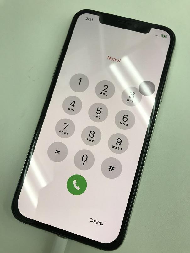 iPhoneX水没復旧画面交換修理