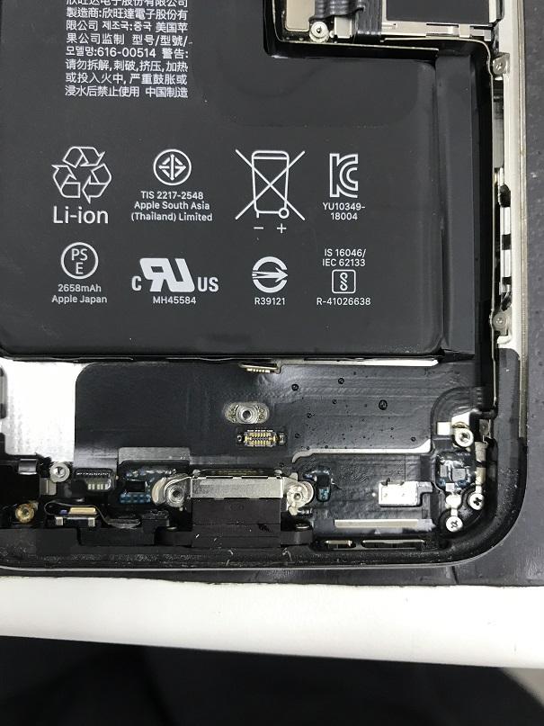 iPhoneXSタッチ不良修理