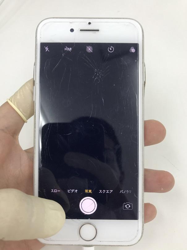 iPhone7リアカメラフロントカメラカメラガラス交換修理