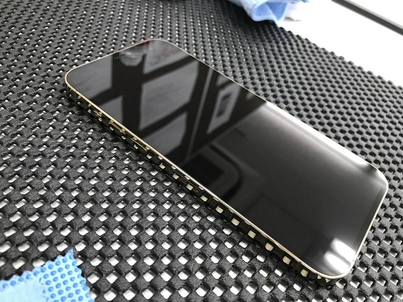 iPhone12 Pro Maxナノナインガラスコーティング