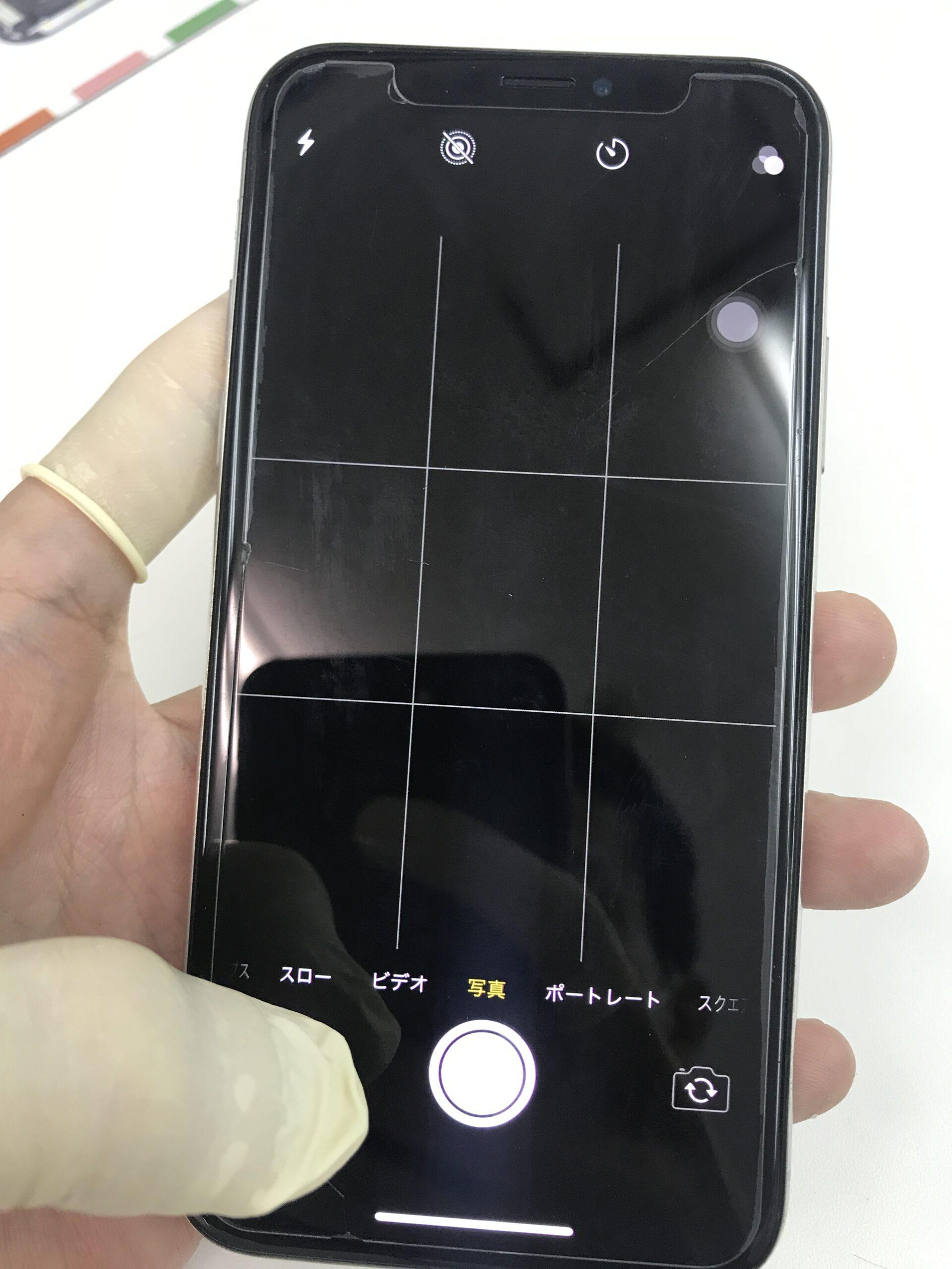 iPhoneXリアカメラ交換修理