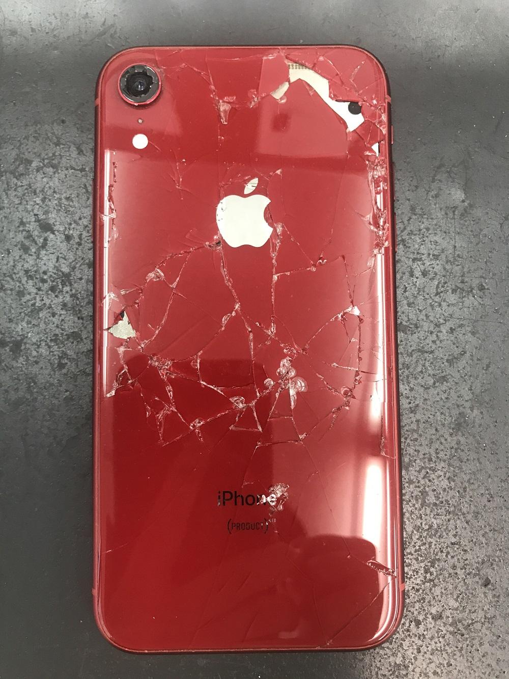 iPhoneXRのバッテリー交換