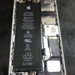 川で水没して電源が入らない初代iPhoneSE・・・修理の結果は?