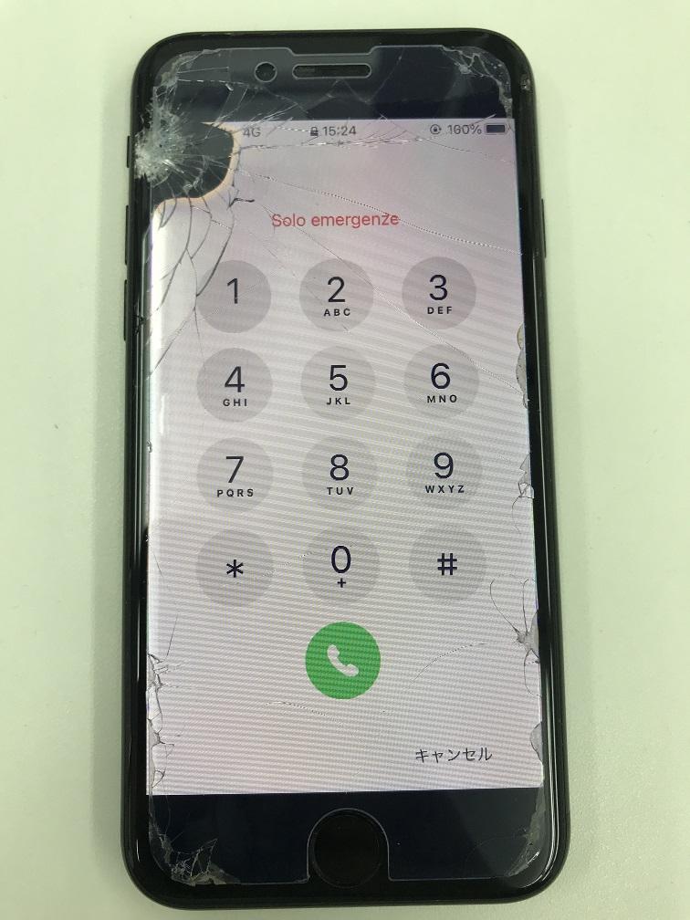iPhone7Plus 液漏れ修理前