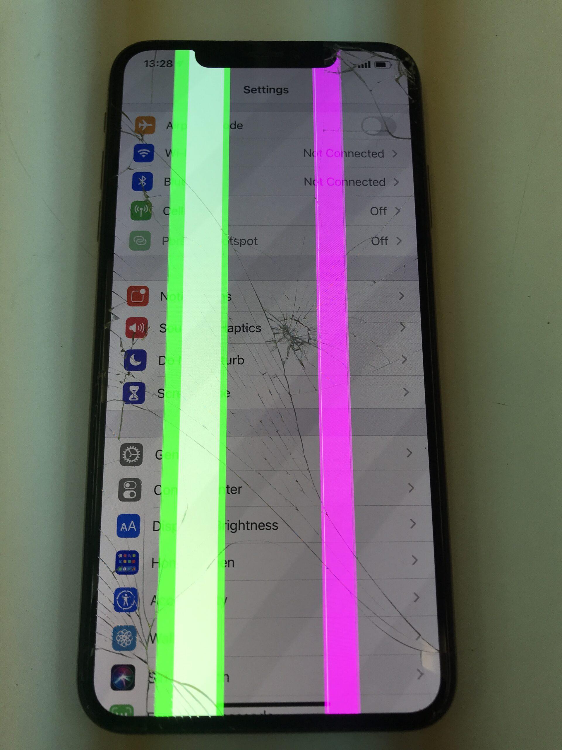 iPhoneXS Max有機ELディスプレイ画面交換修理